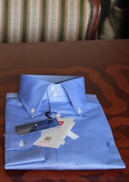 camicia-colosseo-button-down-celeste