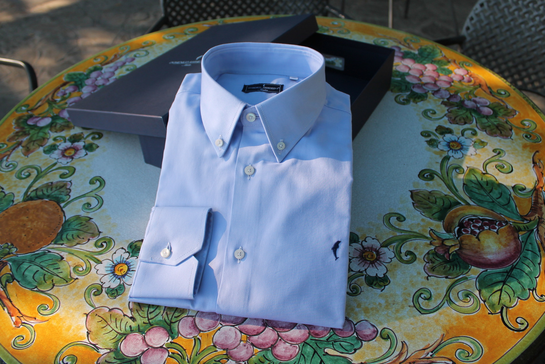 Camicia-Davis-Celeste-Button-Down-made-in-italy
