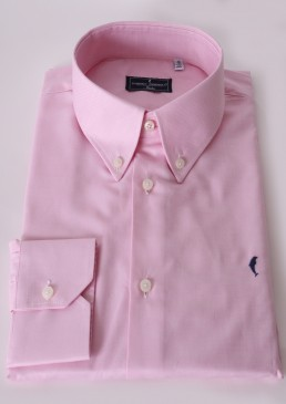 Camicia Button Down Rosa Chiaro